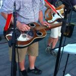 Bluegrassová kapela Mlha a taneční skupina Country Rebels byly zlatou tečkou