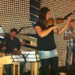Cimbálová muzika KAPURA zářila na Kulturním létu na schodech 2012 v Břeclavi