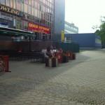 Čtyřlístek po roce opět vystoupil na schodech KD Delta v Břeclavi
