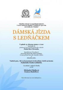 Dámská jízda Nadačního fondu Ledňáček