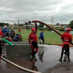 Dnes jsme navštívili soutěž hasičů v požárním útoku