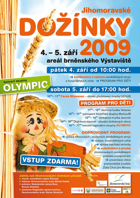 Jihomoravské dožínky 2009