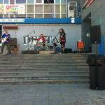 Rocková kapela LIDOPOP na Kulturním létu na schodech 2012 v Břeclavi