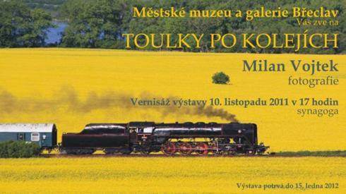 Pozvánka na Toulky po kolejích s Milanem Vojtkem
