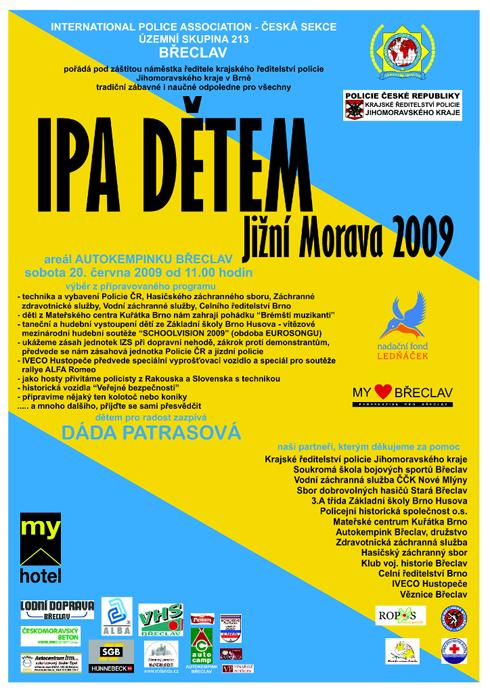 Všechny malé i velké srdečně zvu na dětský den IPA 2009