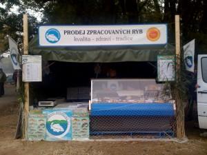 Prodej zpracovaných ryb