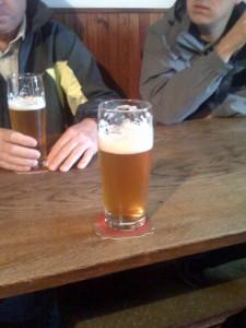 Vzorek kvasnicového piva