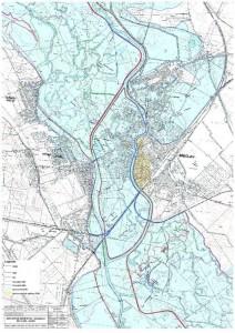 Záplavové území v Břeclavi